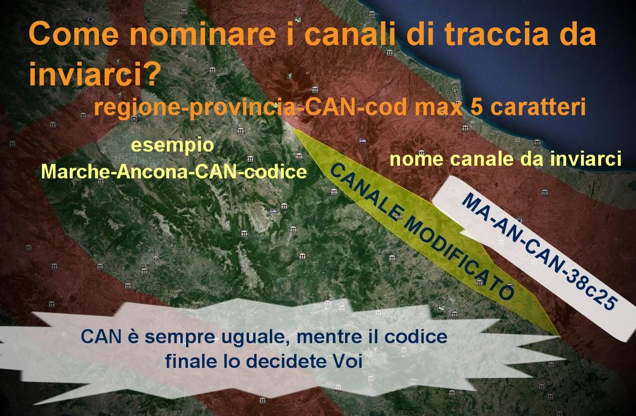 CANALI DI TRACCIA - lez.4